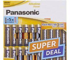 Piles LR03 AAA PANASONIC ALKALINE SUPER POWER(équivalent 5 x Alcaline) ANTIFUITE