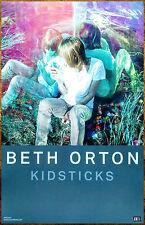 Beth Orton Kidsticks 2016 Ltd Ed New Rare Poster +Free Folk Rock Indie Poster!