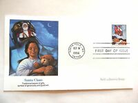 """October 8th, 1996 """"Santa Claus"""" First Day Issue Lot #1"""