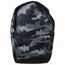 Enfants Adolescente Sac à Dos Cartable École - Gris Camouflage