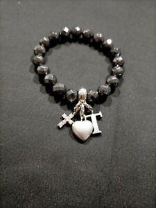 Thomas Sabo Sterling Silver Natural Hematite Bracelet