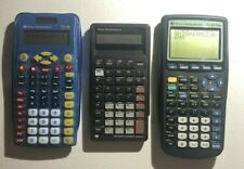 Texas Instrument Calculator Lot (Ti-83 plus, Ti-bA 2 plus, Ti-15)