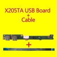 For ASUS X205T X205TA USB POWER Switch Button BOARD +Cable X205TA_IO DA0XK2PI4C0