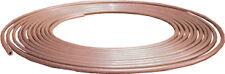Soft Copper Brake Pipe 3 / 16 O / D x 25ft 22 g Gauge