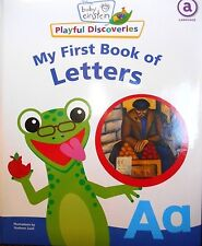 Baby Einstein: My First Book of Letters board book with padded cover new