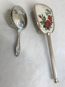 Vintage Dressing table set hair brushes... Peter Rabbit ?