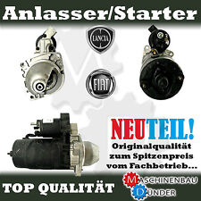 FIAT CROMA 1900 Turbo D i d / LANCIA THEMA 2500 Turbo DS ANLASSER NEW NEU !!!