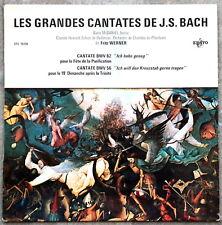 Erato Fritz WERNER Grandes Cantates de BACH Vol 18, Cantatas BWV 56 & 82