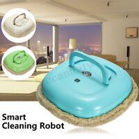 Smart Washable Microfiber Floor Mop Robot Vacuum Cleaner Cleaning Wet/Dry