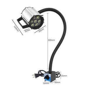 CNC Maschinenlampe Magnetische LED Arbeitsleuchte Flexibel Wasserdicht Arm Licht