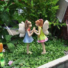 Miniature Garden Fairies Andrea and Amanda