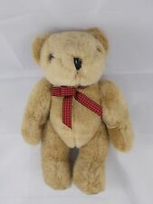 "Just Friends Tan Teddy Bear Plush 12"" Jointed P & L Trading Co"