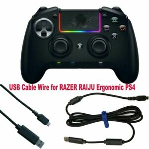 2M USB Cable Wire for RAZER RAIJU Ergonomic PS4 Gaming Controller Gamepad Accs