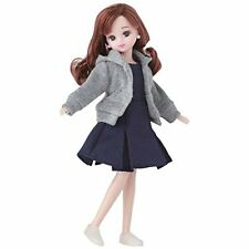 Licca chan doll clothes navy one piece Takara Tomy wear outfit Japan new.