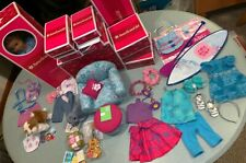 American Girl Kanani Doll World Outfits Accessories Chair Board EUC