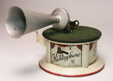 GREAT ORIGINAL BING KIDDYPHONE  TIN TOY PHONOGRAPH GRAMMOPHONE