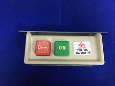 Interruptor de máquina de coser industrial 80 = T75 de una sola fase 220V Interruptor sólo