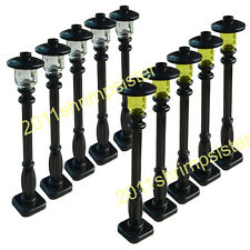 10X Street lamp for LEGO garden house parts building block toy street lights