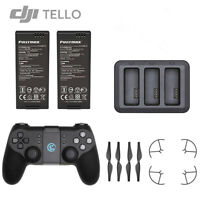 Ryze DJI TELLO Drone Battery Charger 3 in 1 Charging Hub Remote Controller Props