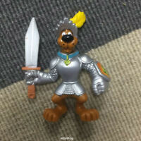 Scooby-doo Knight in Shinning Armour Dog with Sword HANNA BARBERA Figure Boy Toy