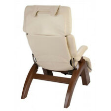 Ivory Leather HUMAN TOUCH Perfect Chair Back Cover PC-420 600 PC-610 NO CHAIR