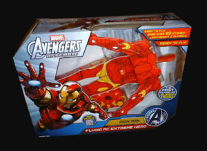 New Marvel Avengers Assemble Iron Man Flying RC Extreme Hero Toy Remote Control