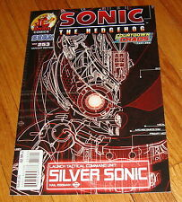 Sonic The Hedgehog #253 T. Rex Silver Sonic Variant Edition 1st Print