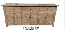 Handmade Medium Wood Tone Sideboards, Buffets & Trolleys