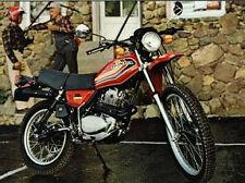 Honda XL250S Modelo Kit Completo Pintura Calcomanía