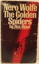 Nero Wolfe: The Golden Spiders #22 by Rex Stout (1975, 7th Printing, Pb) Used