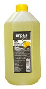 Impala 80° Alcohol  Lemon Cologne 5000 ml - Turskih Limon Kolonya