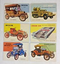 LOT OF 12 ASSORTED 1954 TOPPS WORLD ON WHEELS VINTAGE TRADING CARD LOT MUST SEE