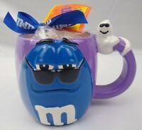 M&M M&M's Coffee Mug Blue Purple Ceramic Halloween Ghost Galerie