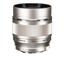 Olympus M.Zuiko 75mm f1.8 ED Prime Lens Silver - New in box
