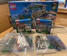 Vintage Lego Set Soccer Football 3409 3403 3416 3418 3419 All Complete Free Sh.
