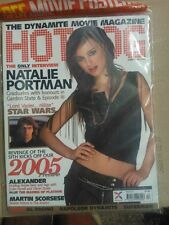 HOT DOG ISSUE 57 NATALIE PORTMAN CHRISTMAS 2004 sealed