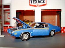 """1969 PONTIAC GTO """"THE JUDGE"""" LIMITED EDITION 1/64 M2 1960'S MUSCLE  CAR"""