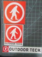 Outdoor Tech - company sticker set of 3, climbing, adventure, hiking, ski, snow