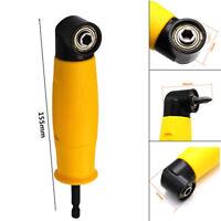 """Right Angle Drill Flexible 90° Angle Chuck Bit Corner Adapter Screwdriver 1/4"""""""
