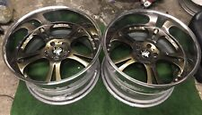 "WEDS KRANZE CERBERUS 19"" 12.5J 19x12.5 5X114.3 PIECE SPLIT RIMS ALLOY WHEELS"