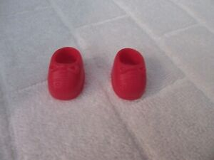 "Vintage Red strawberry shortcake shoes 1"" sole"