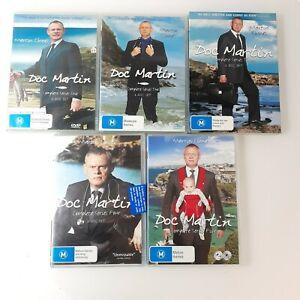 Doc Martin - Series 1 - 5 Collection - Region 4 -British Comedy Season 1,2,3,4&5