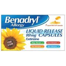 Benadryl Allergy Liquid Release 10mg Capsules 7 - 3 Pack