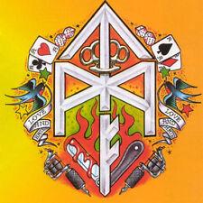 T.M.F. - It 's a Thugs life LP WHITE WAX 150 ex. punk oi! Discharge Minor Threat