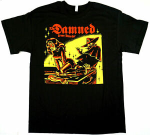 The DAMNED Grave Disorder T-shirt Punk Rock Tee Mens size S-5XL #31