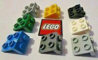 LEGO Bracket 1x2 -  2x2 Down (Pack of  8 Bricks) - Design 21712, 44728
