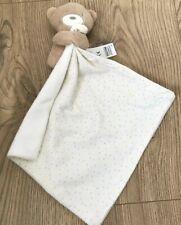 Marks Spencer M&S Ours en Peluche Duvet Confort Couverture Blanc Doux Jouet