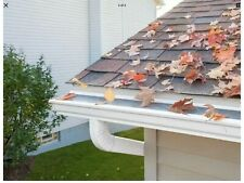 Leaffilter Gutter Guard 5 Inch White $250 Per Box... 50ft Of Filter Per Box