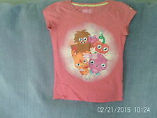 Girls 9 Years - Pink T-Shirt with Moshi Monsters Motif - Next