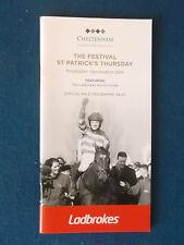 Cheltenham Festival Programme / Racecard - 12/3/2015 - World Hurdle Day